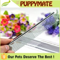 Top Quality Dog Comb Pet Comb Metal Lice Comb For Grooming/Dog Grooming tool