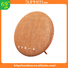 Outdoor sports bluetooth speakers The new portable audio household Subwoofer 12 w cloth art speakers