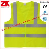 whosales Manufacturer ANSI/ISEA 107 reflective vest with T/C reflective tape