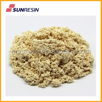 Anion resin for starch sugar solution Demineralization equal to Purolite A133S