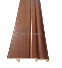 China supplier laminate flooring accessories materials in table skirting,eco-friendly wpc skirting
