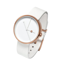 2017 OEM wrist watch ladies watches with rose gold stainless steel buckle