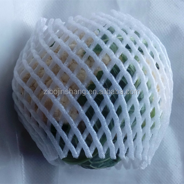 EPE foam fruit net for packaging fruits and vegetables