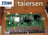Original ZTE 16 Ports GPON Board GTGH for ZTE C300 C320 OLT,with 16 SFP B+ C+ C++ Modules included