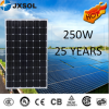 high solar energy power solar equipment 250w solar panel/cheap price mono 250w solar panel