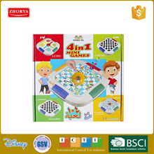 board game Ludo checkers & chess kids play chess game