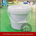 20 to 30 Mesh crushed black pepper granules 5kg spice bucket barrel packing