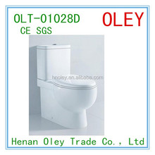 Chinese chaozhou toilet manufacturer sanitaryware two piece WC toilet