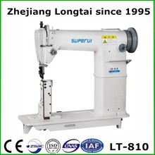 LT-810 POST BED prices sewing machines for leather bag and nike football shoes