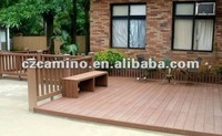 cheap green patio composite decking material