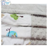 2016 High Quality New Design Knit Cable Baby Blanket