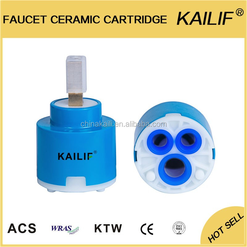 Kaili Export Faucet Replacement Parts Ceramic Cartridge Diverter