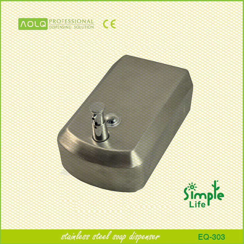 Best price wall mount multifunction stainless steel mouth wash dispenser