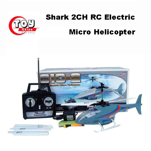 Shark 2CH RC Electric Micro Helicopter