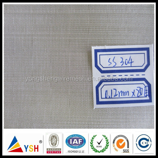Plain Weave/Twill Weave/Dutch Weave SUS 304 Stainless Steel Wire Mesh(China Manufacturer)