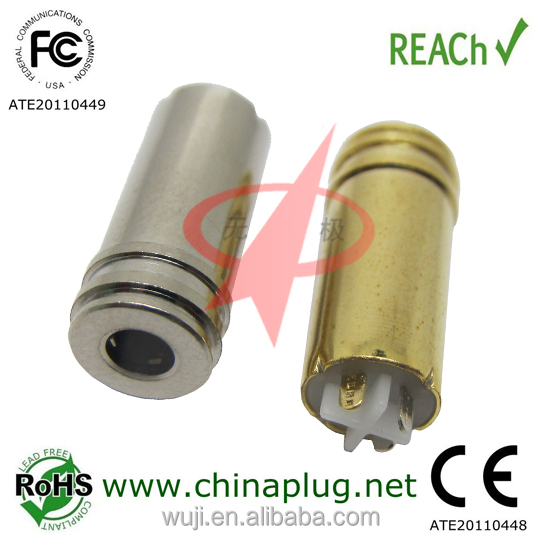 New products 2014 3.5mm waterproof jack plug