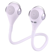 New Mini M1 Flexible Bendable Wearable Music Elves Blue tooth Speaker, Support Hands-free Call (Silver)