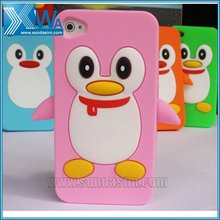3d animal silicone case for iphone 4 4s