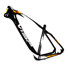 Chinese factory direct sales 1.13KG super light 650b mtb carbon mountain bike frame 26er / 27er for 15.5-17.5inch mtb frame size