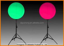 1.5m inflatable LED light ground balloon for wedding decoration