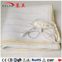 Single Controller 100% Polyester Heated Electric Blanket