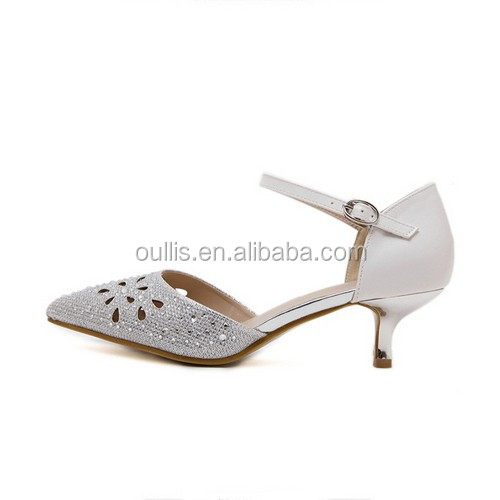 lower heel shoes newest designs women popular designs 2016 PC4336