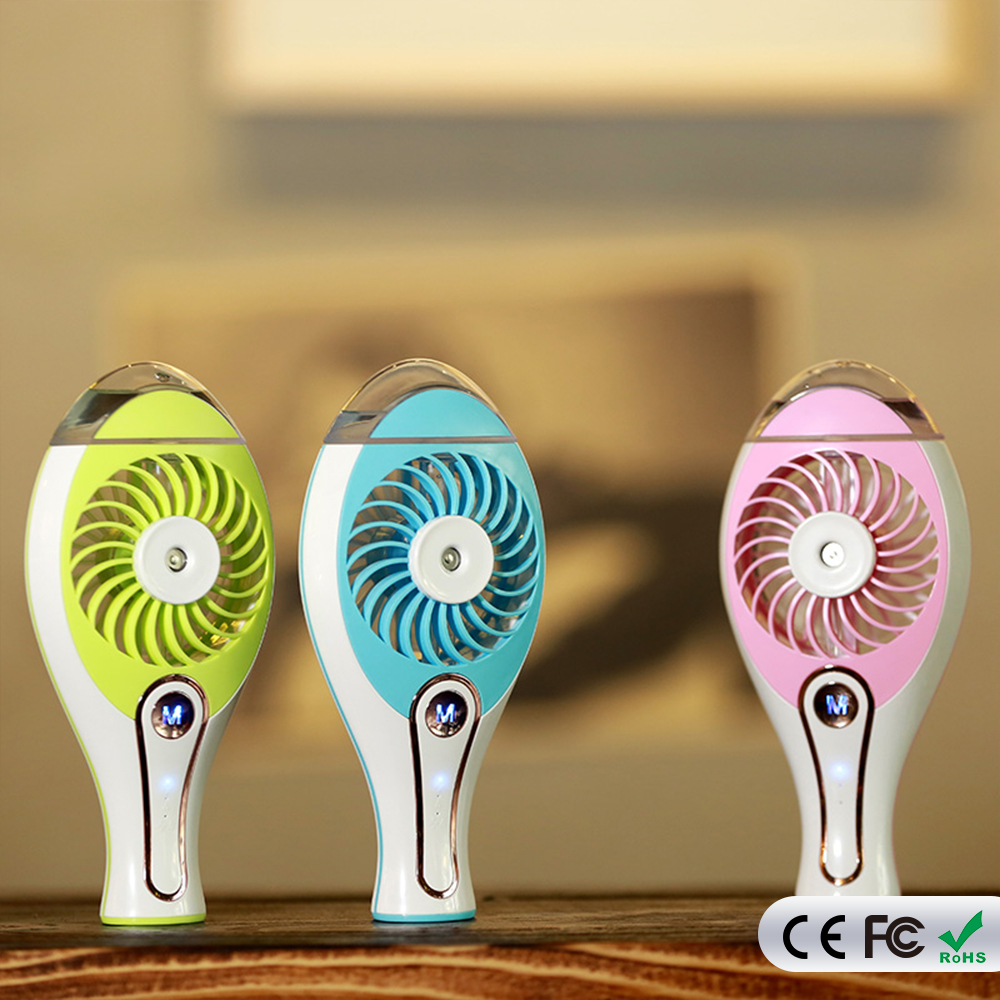 Hand Held Humidifier Air Conditioner Fan Portable Misting Fan