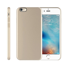 New products cellphone rubber skin feeling back cover ultra thin case for iPhone 6