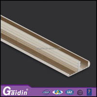 Hidden frame aluminum extrusion profile accessory c channel and u channel
