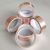 Excellent acrylic adhesive 0.1mm thick copper foil tape for EMI Shielding