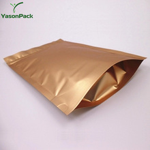 Designed aluminum foil mobile phone accessories plastic bag and pouch with ziplock