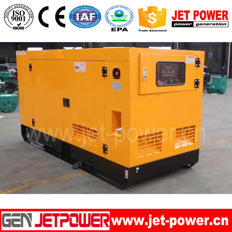 P-14 Global warranty Chinese manufacturer 13KVA 10KW silent diesel generator sets gensets with 403A-15G1