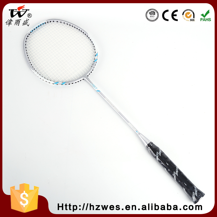 7017 All Kinds Of Dissimilarity Glossy Surface Treatment Aluminiun Frame Carbon Badminton Racket