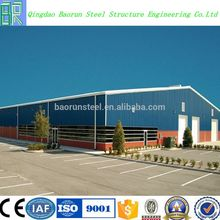 Professional design factory prefabricated steel structure workshop building