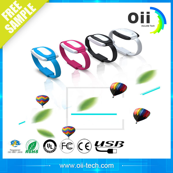 22 cm fashion bracelets with the lighter mobile mini USB 2.0 cable wrist charger cable synchronization