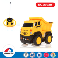 Cartoon Engineering Funny Toy Rc Truck