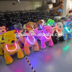 Electric ride on animal train mall car for kids walking animal ride