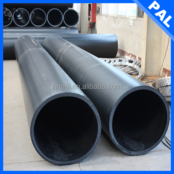 0.8mpa 6 inch hdpe double wall corrugated pipe with Self lubrication