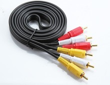 Hot sale mobile 9 pin mini din to rca cable for South America market