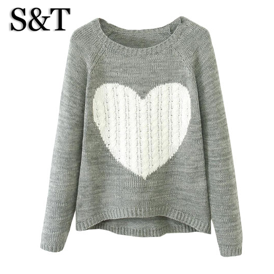 2015 fashion womens autumn winter women sweater style sweaters and pullovers pullover knitted sweater clothing top plus size