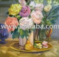 floral paintings, flower paintings