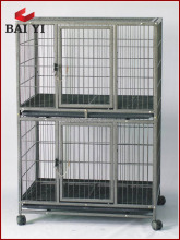 stainless steel lager dog cage