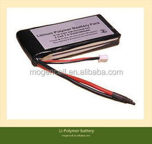 Individual Lipo Cells,Lower Price Li-Polymer Battery Pack,7.4v 1900mAh Li-Polymer battery