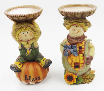 Polyresin Harvest / Thanksgiving Figurine