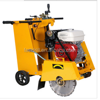 petrol powered road used electric floor saw HXR350