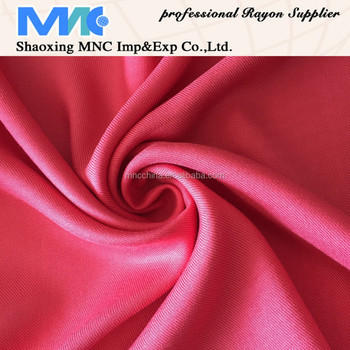 MR16022RD Best selling 100% rayon dyed twill fabric