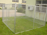 chain link dog run kennels