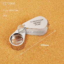 Hot selling Jewelry magnifying Loupe with 2 led light