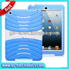 Rugged Assembled Silicone & Plastic Combo Case with Stand for iPad Mini / iPad 2 3