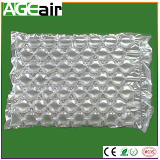 Best protective packing buffer air packing film roll/air cushion bag for electronic products